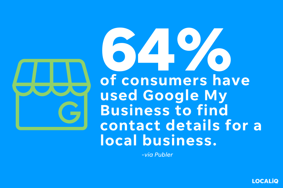 what is google my business - google my business consumer statistic