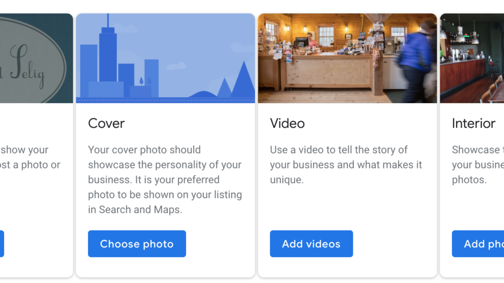 add images to optimize your gmb profile
