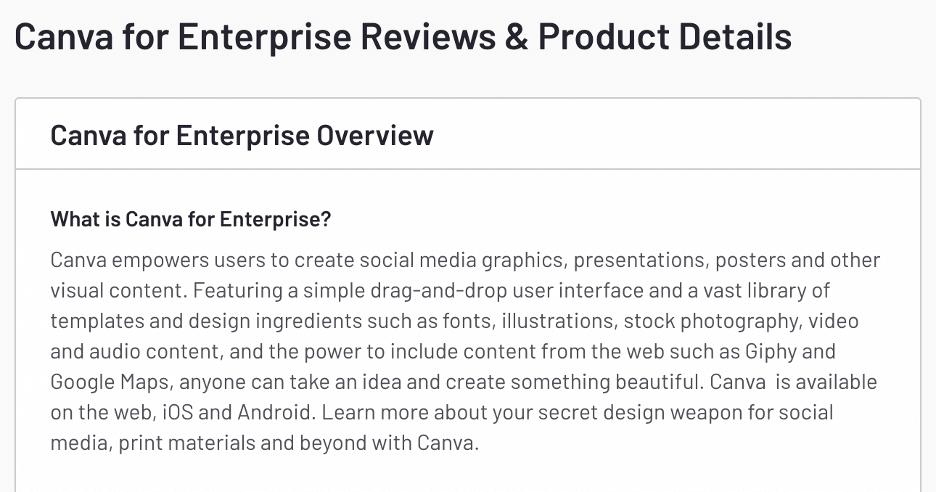 canva business description