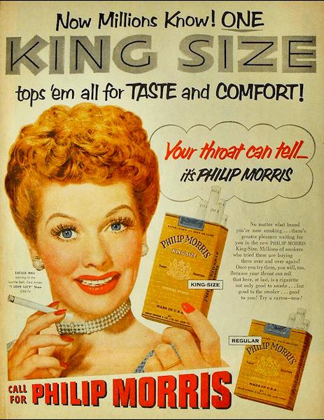 celebrity endorsements were an original marketing trend
