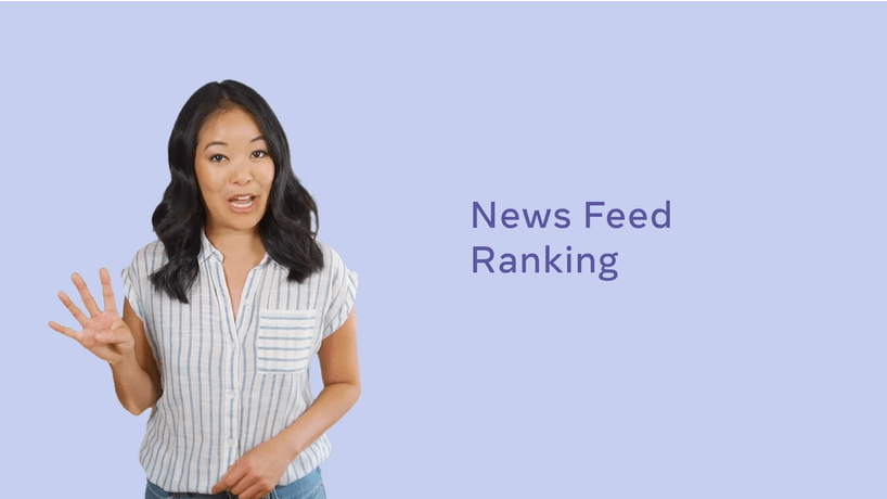facebook news feed - the ranking system for posts