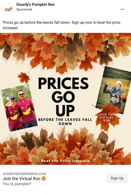 fall advertising ideas - use fall advertising slogans