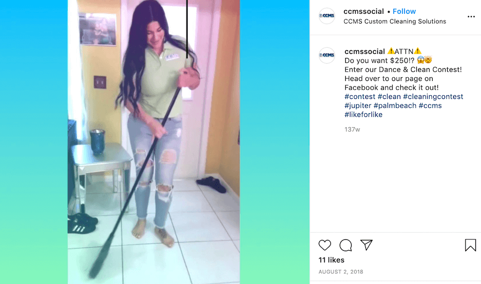 home service instagram caption examples