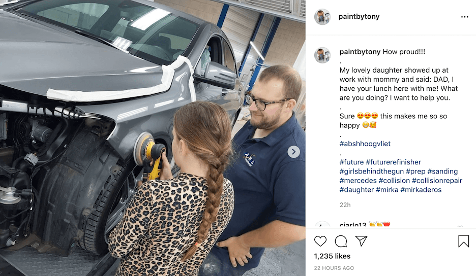 instagram caption ideas for auto businesses