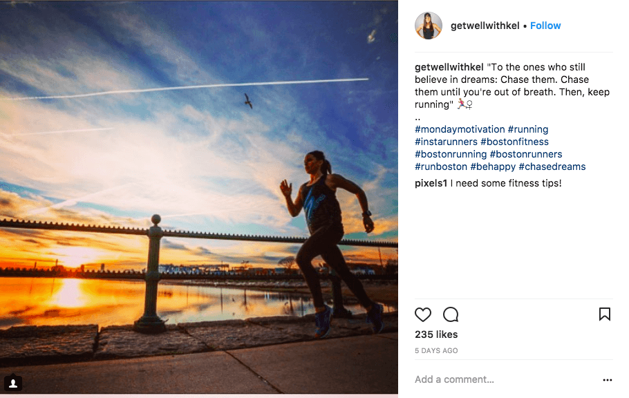 instagram caption ideas - gyms and fitness - quote captions
