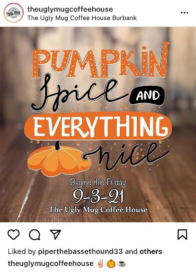fall promotion ideas - host a fall event