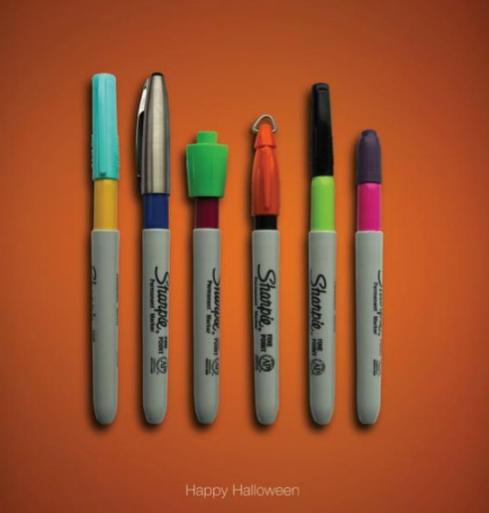 halloween marketing ideas - halloween display ad