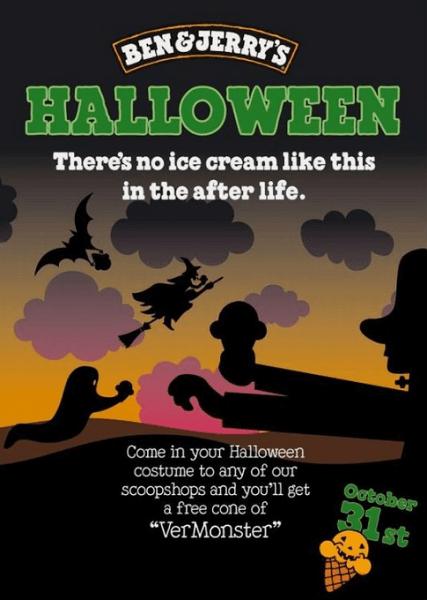 halloween marketing ideas - halloween product special