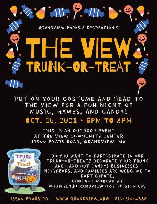 halloween marketing ideas - trunk or treat