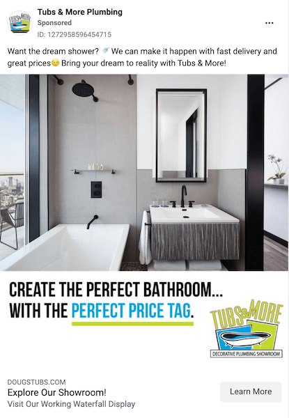 home services marketing - target audience with right messaging - example