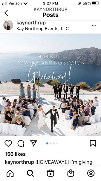 how the instagram feed works - instagram small business content example