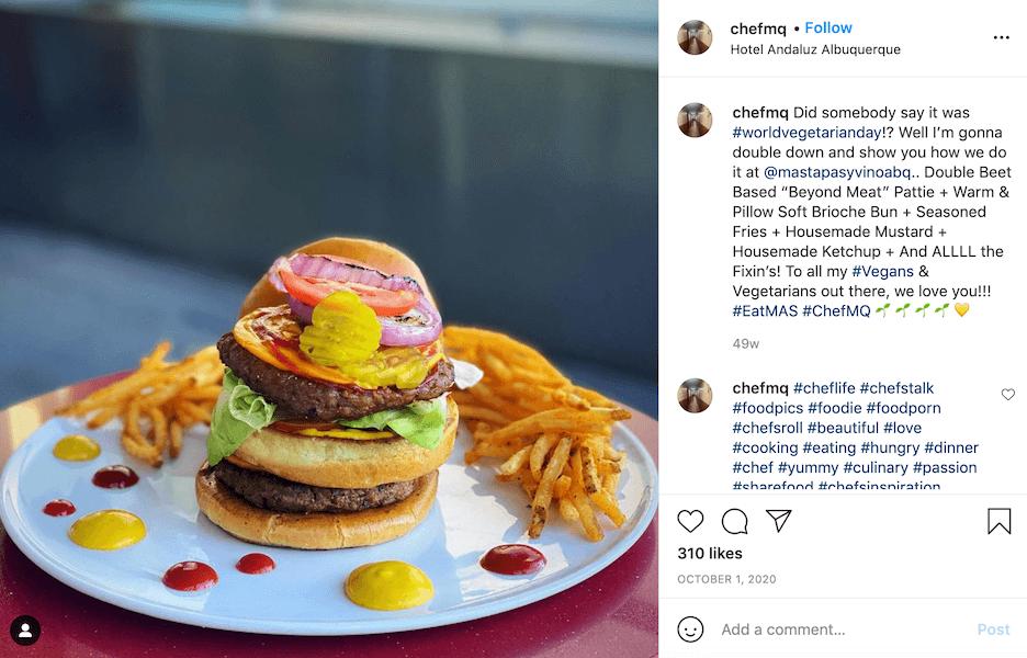 october social media post ideas - world vegetarian day
