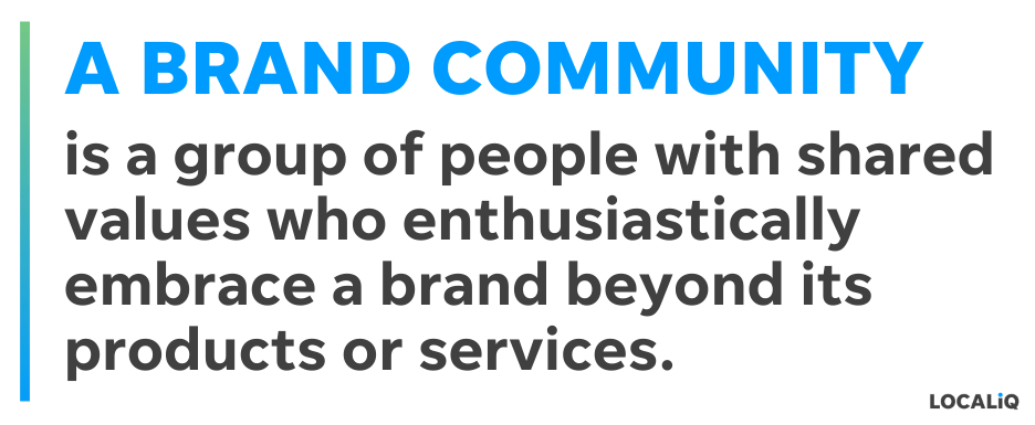 what is a brand community