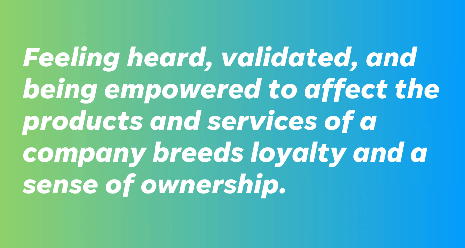 why build a brand community - create customer loyalty