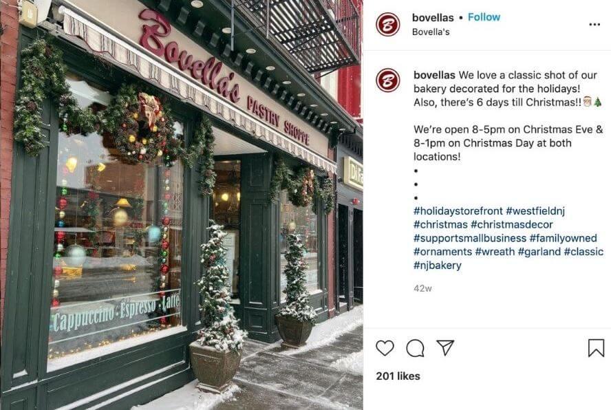 november social media posts - share holiday decor